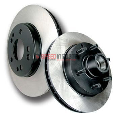 Picture of Centric Brake Rotors - Premium - Solid (Rear) disc BRZ