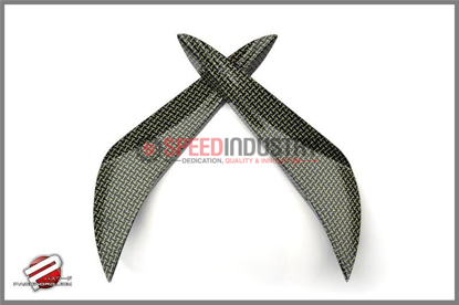 Picture of Password JDM Dry Carbon Kevlar Canards 2013+ Scion FR-S (Inner)