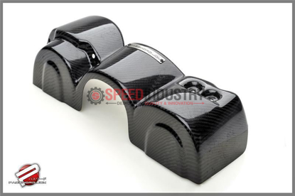 Picture of Password JDM Dry Carbon Fiber Engine Pulley Cover for BRZ / FR-S (Type I)