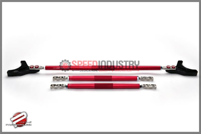 Picture of Password JDM Strut Tower Bar Red