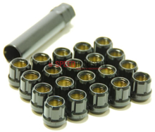 Picture of Muteki Classic Lug Nuts : Deep Black; 12X1.25