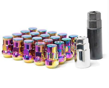 Picture of Muteki SR35 Lug Nuts: NeoChrome : 12X1.25