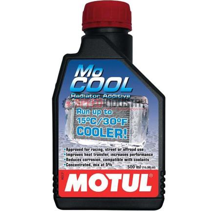 Picture of 102222  -MOTUL Coolant - MoCOOL Radiator Fluid  Size: 1/2L Bottle (16.9 fl.oz.) - DISCONTINUED