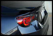 Picture of Toms - Clear Taillights FT86 ZN6 LED Tail Light (USDM Spec) Scion FR-S / Subaru BRZ - CLEAR