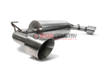 """Picture of Perrin Brushed 3"""" Resonated Dual Tip Cat-Back Exhaust FRS/BRZ/86"""