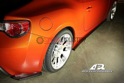 Picture of APR Carbon Fiber Side Rear Bumper Extension for Scion FRS - FS-522008