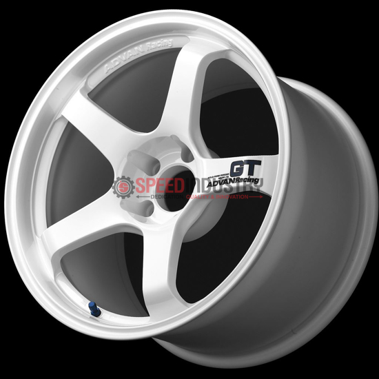 Picture of Advan Racing GT 18x9.5 +40 5x100 Racing White