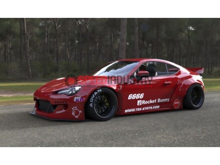 Picture of Greddy X Rocket Bunny V2 Rear Over Fenders-FRS/86/BRZ