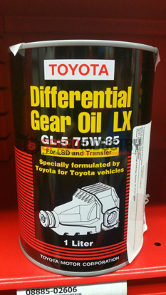 Picture of Toyota 75w-80 Differential Gear Oil
