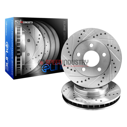 Picture of R1 Concepts E Line  Brake Rotors - Rear (OE Style)