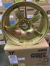 Picture of Gram Lights 57CR 17x9 5x100 +38 Gold Wheel