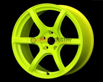 Picture of Gram Lights 57C6 18x9.5 5x100 +40 Luminous Yellow Wheel