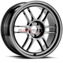 Picture of Enkei RPF1 18x9.5 5x100 +38 Shiny Black Chrome Wheel
