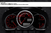 Picture of BRZ STI Style Magna Instruments Gauge Cluster Face - FRS / BRZ / 86