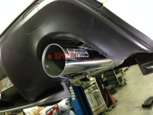 Picture of Buddy Club Spec II Cat-back Exhaust Stainless Steel FRS/BRZ/86