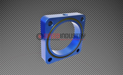 Picture of Torque Solution Throttle Body Spacer (Blue): Subaru BRZ / Scion FR-S 2013+
