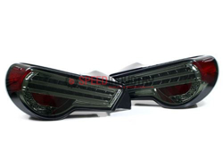 Picture of Lexon Tribar FRS/GT86/BRZ Taillights -Smoke Lens- Chome inside