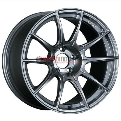 Picture of SSR GTX01 18X8.5 +44 Dark Silver Wheel
