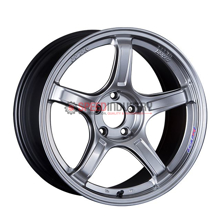 Picture of SSR GTX03 18x8.5 +45 5x100 Platinum Silver Wheel