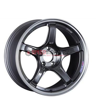 Picture of SSR GTX03 18x8.5 +45 5x100 Black Graphite Wheel