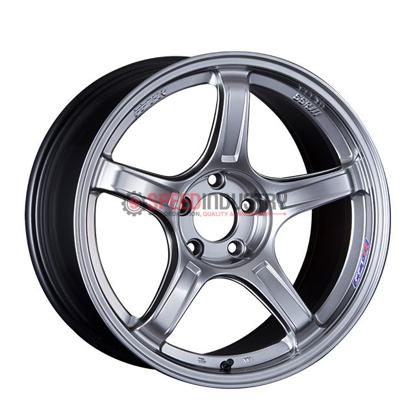 Picture of SSR GTX03 18x9.5 +38 5x100 Platinum Silver Wheel