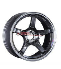 Picture of SSR GTX03 18x9.5 +38 5x100 Black Graphite Wheel