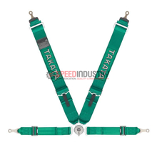 Picture of Takata ASM Race 4-Point Bolt-On Harness (Takata Green)