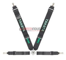 Picture of Takata ASM Race 4-Point Bolt-On Harness (Black Version)