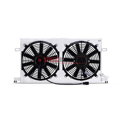 Picture of Mishimoto Brushed Aluminum Fan Shroud FRS/BRZ/86