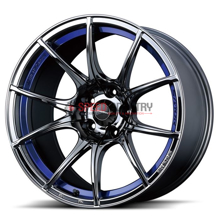 Picture of WedsSport SA10R 18x9.5 +45 5x100 Blue Light Chrome