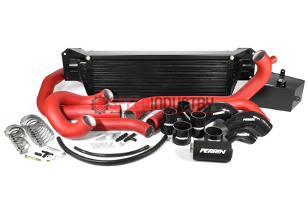 Picture of Perrin Front Mount Intercooler - 2015+ STI (Black Core)