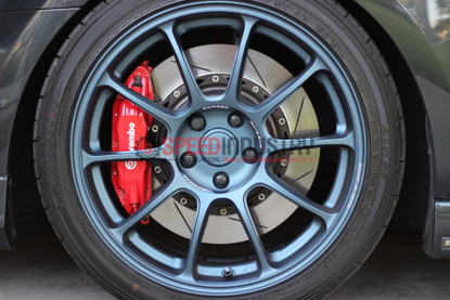 Picture of Volk ZE40 Matte Blue Gunmetal 18x8.5 +45 5x100