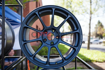 Picture of Volk ZE40 Matte Blue Gunmetal 18x9 +40 5x100
