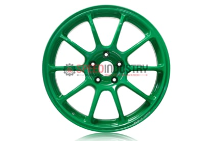 Picture of Volk ZE40 GT Green 18x9.5 +43 5x100