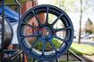 Picture of Volk ZE40 Matte Blue Gunmetal 18x10 +40 5x100