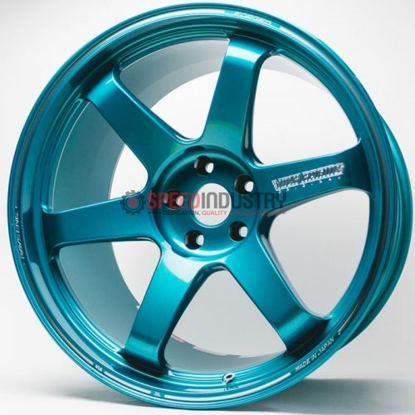 Picture of Volk Racing TE37SL 18x9.5 5x100 +40 Hyper Green