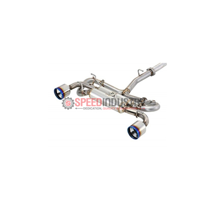 Picture of Fujitsubo Authorize R Dual Cat-back Exhaust Burnt Tip FRS/BRZ/86