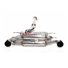 Picture of Invidia Gemini R-400 Cat-back Exhaust Stainless Steel Tips FRS/BRZ/86