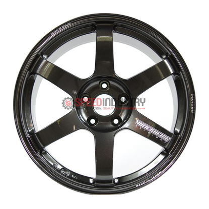 Picture of Volk TE37 Saga 18x9.5 +43 5x100 Diamond Dark Gunmetal Wheel