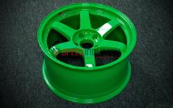 Picture of Volk Racing TE37SL 18x9.5 5x100 +40 GT - Green
