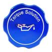 Torque Solution Billet Oil Cap Blue