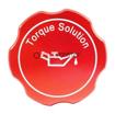 Torque Solution Billet Oil Cap Red