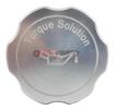 Torque Solution Billet Oil Cap Silver