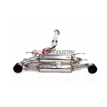 Picture of Invidia Gemini R-400 Cat-back Exhaust Titanium Burnt Tips FRS/BRZ/86
