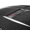 Picture of Seibon 15-17 Ford Focus TV-Style Carbon Fiber Hood