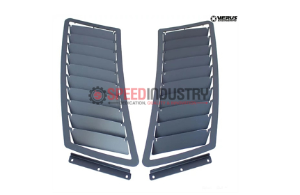 Picture of Verus Hood Louver kit GT Spec Hood Raw - Mustang GT 15+