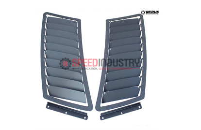 Picture of Verus Hood Louver kit GT Spec Hood Black - Mustang GT 15+