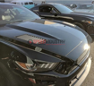 Picture of Verus Hood Louver kit NON GT Spec hood Raw - Mustang 15+ -
