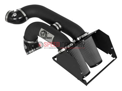 Picture of aFe Magnum FORCE Stage-2 Dual Dry Intake Black Ford 17+
