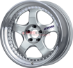 Picture of Work Wheels Work Meister S1 3 Silver 18x9.5 +24 5x114